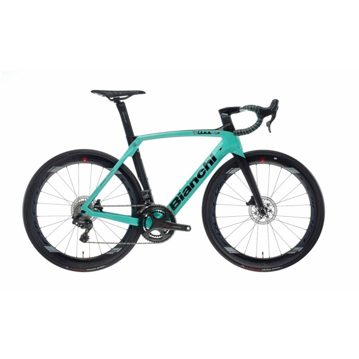 BIANCHI OLTRE XR4 DISC - SUPER RECORD EPS 12SP 52/36 (FULCRUM WIND) kerékpár