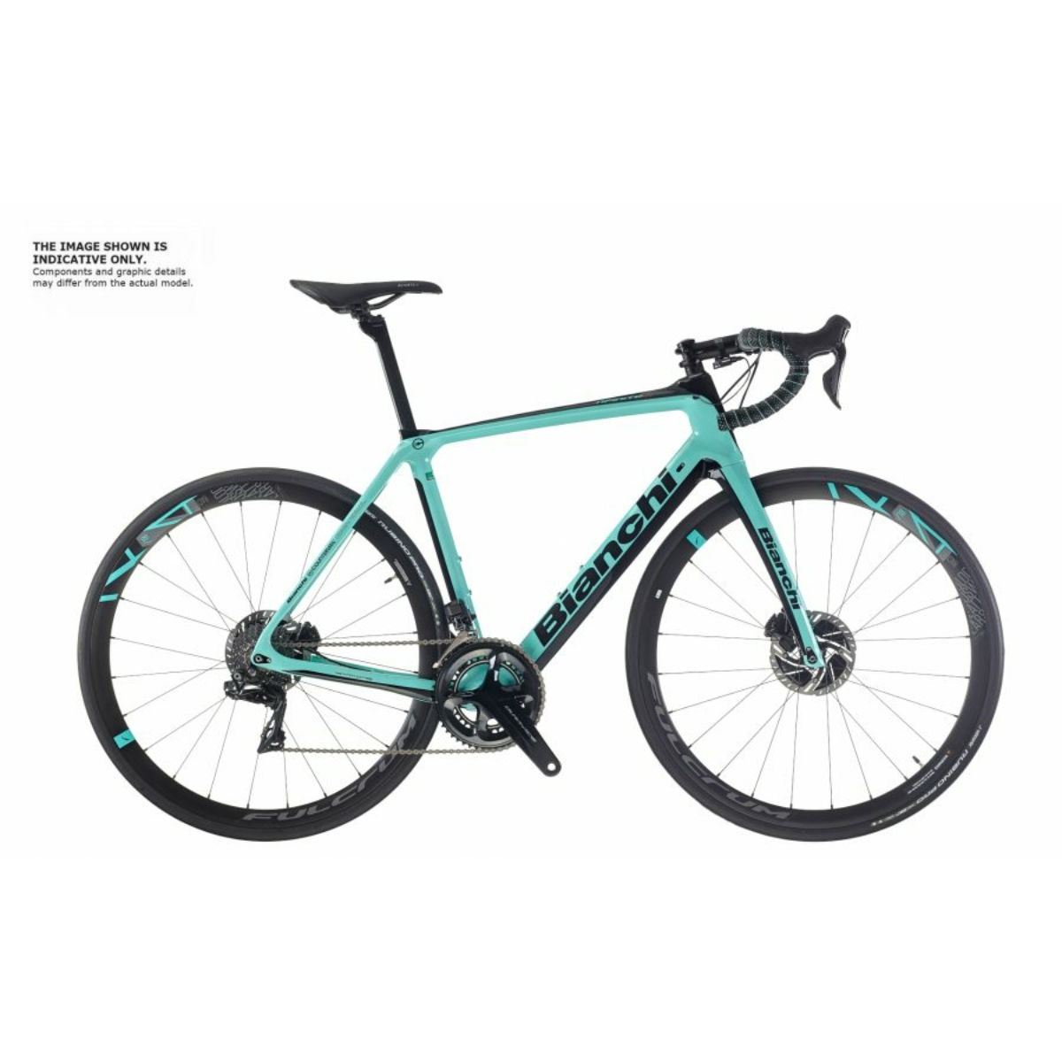 BIANCHI INFINITO CV DISC - RED ETAP AXS 12SP 46/33 (FULCRUM RACING) kerékpár