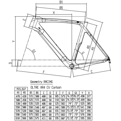BIANCHI OLTRE XR4 Super Record Compact 11sp Racing Speed 55T Tubular kerékpár