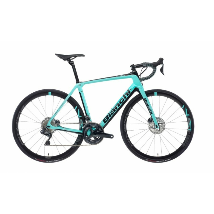 BIANCHI INFINITO CV DISC - ULTEGRA DI2 11SP 50/34 (FULCRUM RACING) kerékpár