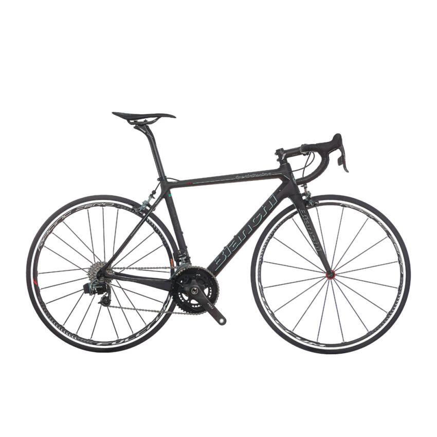 BIANCHI SPECIALISSIMA Sram Red eTap Compact 11sp 50/34 Racing Zero Nite C17  kerékpár