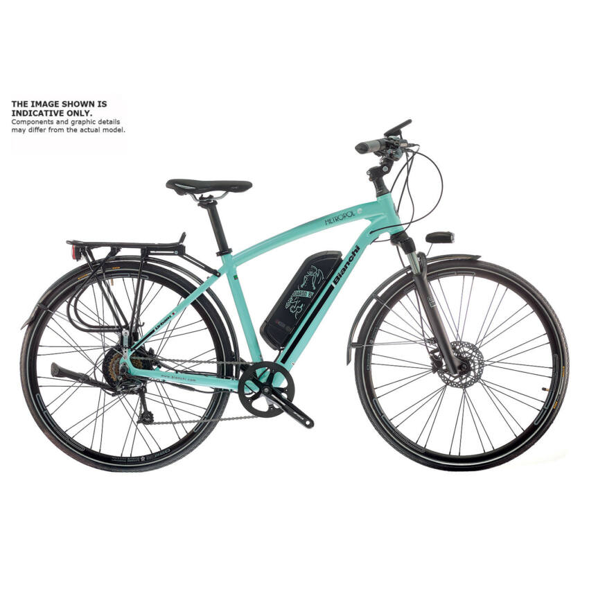 BIANCHI METROPOL-e ALIVIO DISC 9sp kerékpár