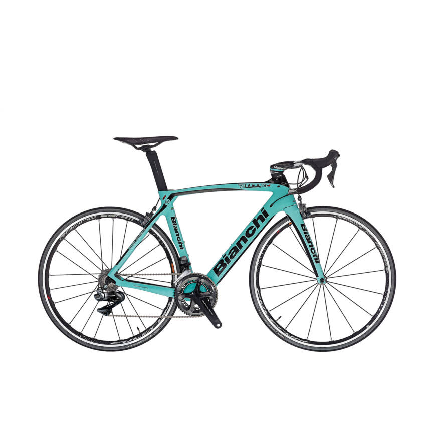 BIANCHI OLTRE XR4 Dura Ace Di2 Compact 11sp 52/36 Racing Speed 55T Tubular kerékpár