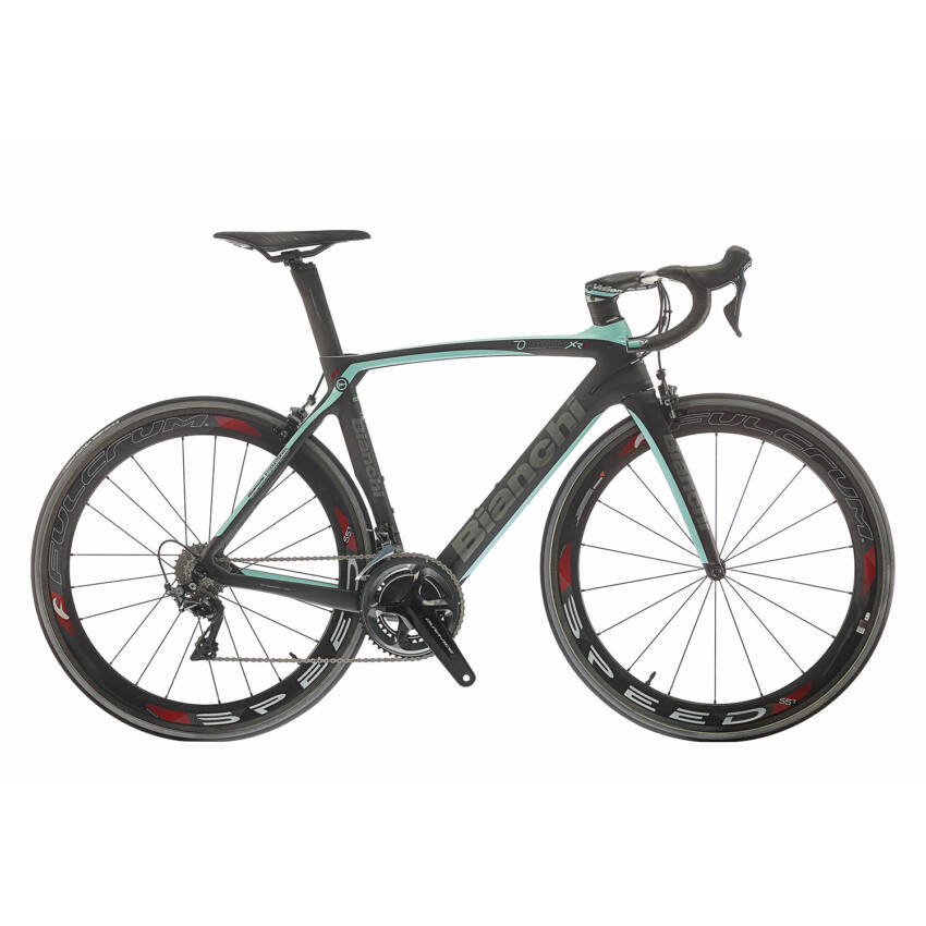 BIANCHI OLTRE XR4 Full Dura Ace Compact 11sp 50/34 Zipp Firecrest 404 Tubular kerékpár