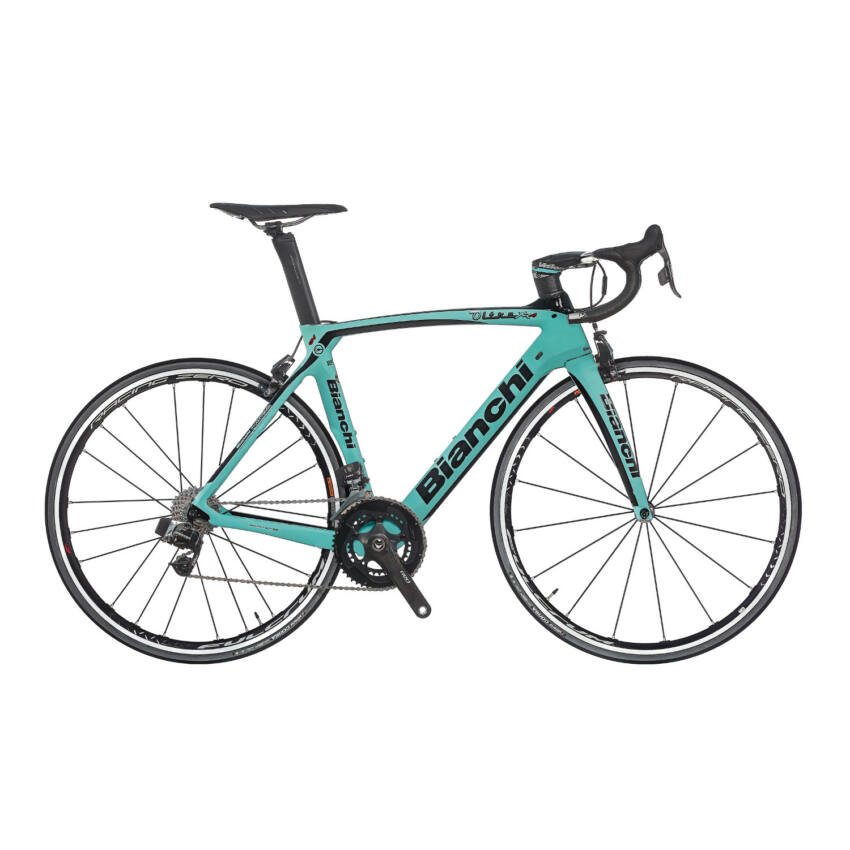 BIANCHI OLTRE XR4 Sram Red eTap Compact 11sp 50/34 Racing Speed 55T Tubular kerékpár